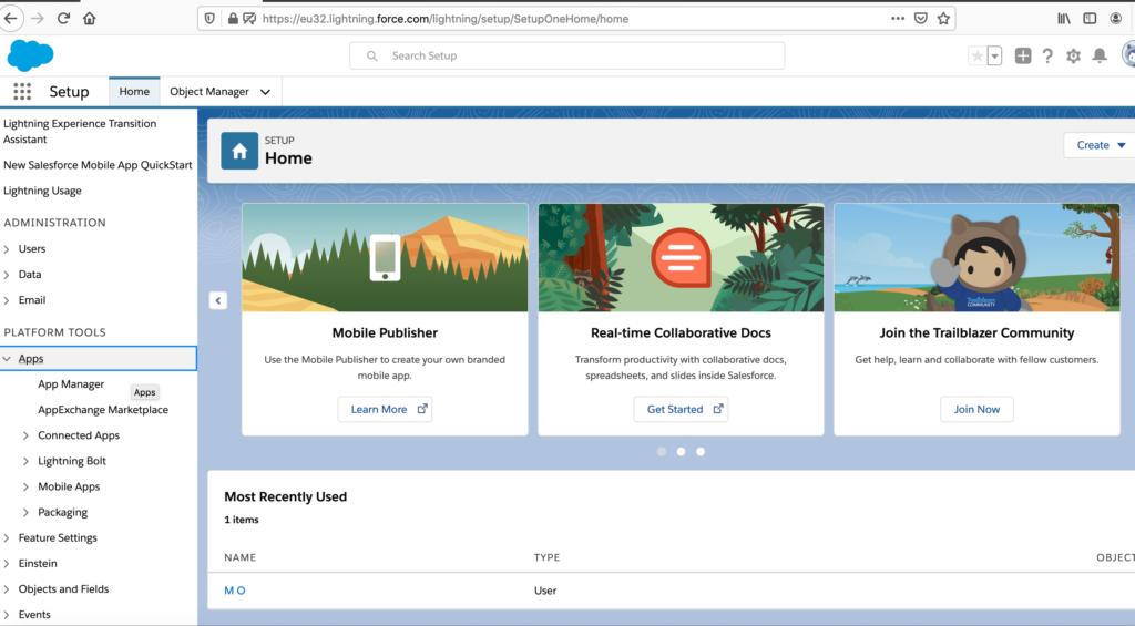 Strona główna Salesforce